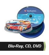 Blu-Ray, CD, DVD