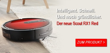 Der neue Miele Scout RX1 Red Saugroboter